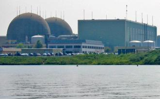The nuclear reactors at the North Anna power plant in Virginia