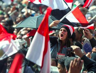 Mass protests in Cairo's Tahrir Square helped topple the Mubarak regime in just 18 days