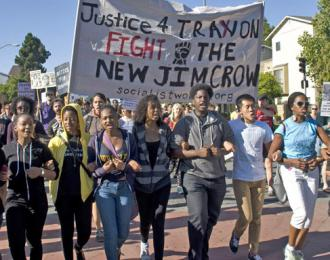 Oakland marches for justice for Trayvon Martin (Josh On | SW)