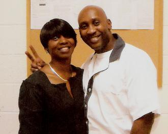 Martina Correia stands with her brother Troy Davis