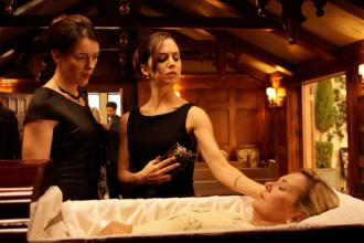 Olivia Williams and Eliza Dushku in Joss Whedon's Dollhouse