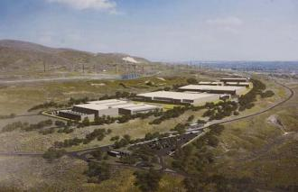 An artist's rendering of the NSA server farm that is due to be completed later this year