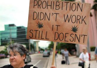 Taking a stand against the criminalization of marijuana