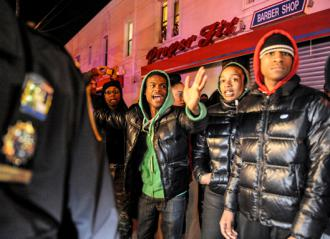 East Flatbush erupted in nightly protests following the NYPD murder of Kimani Gray (Stephanie Keith | Polaris)