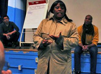 Residents organize against the neglect of public housing in Red Hook after Hurricane Sandy