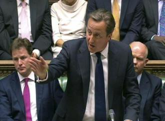 David Cameron appeals to British Parliament to approve an attack on Syria