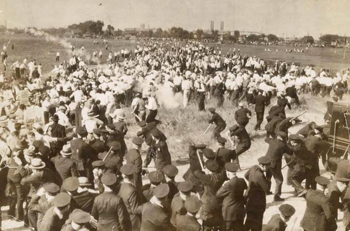 The Memorial Day massacre