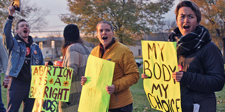 Madison Women Fighting Back By Taking >> Hey 40 Days Madison Is Pro Choice Socialistworker Org