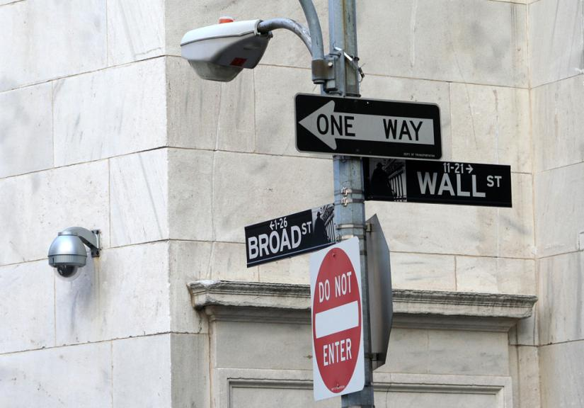 Wall Street and Broad Street