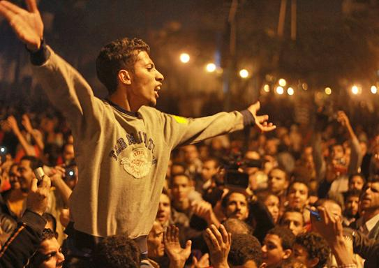 Mass protests return to Tahrir Square to call for an end to the military's rule