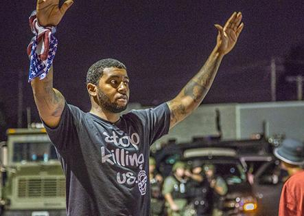Resisting police murder and the militarized crackdown against protest in Ferguson, Missouri