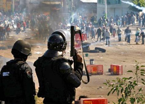 Federal police unleashed a deadly assault on protesters in Oaxaca
