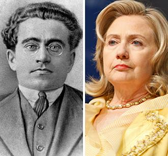 Antonio Gramsci and Hillary Clinton