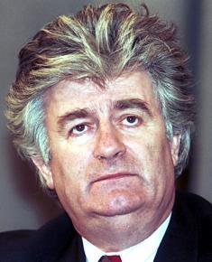 Bosnian Serb leader Radovan Karadzic