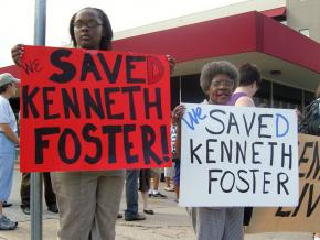 Texas activists celebrate after Kenneth Foster Jr. was given clemency hours before his scheduled execution
