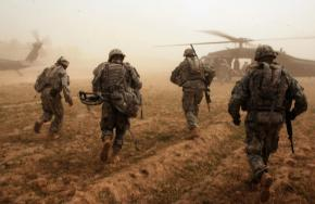 U.S. soldiers finished with a mission in Iraq