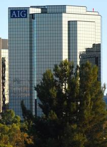 AIG headquarters in Woodland Hills, Calif.