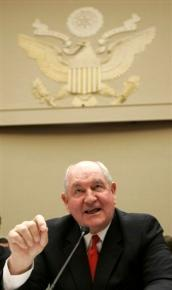 "Georgia Governor ""Sonny"" Perdue"
