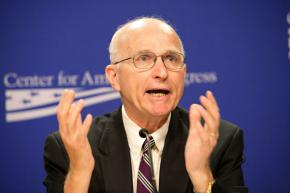 Center for American Progress Senior Fellow Lawrence Korb at a recent panel discussion on Afghanistan