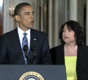 President Obama announced his nomination of Sonia Sotomayor on May 26