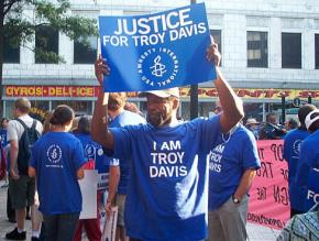 As many as 1,000 people gathered in Atlanta for a march calling for justice for Troy Davis