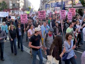 The California Supreme Court decision to uphold Proposition 8 was met with large protests