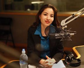 Journalist Roxana Saberi was recently released from prison in Iran