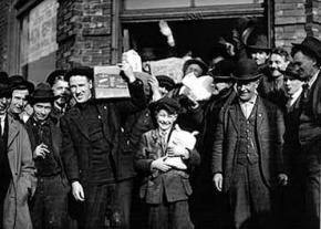 Workers developed their own methods of distributing necessities during the Seattle General Strike