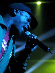 Dead Prez performing in London