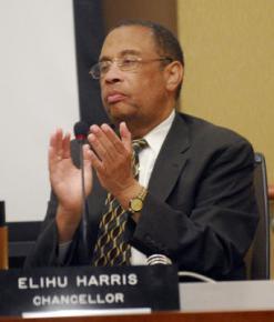 Peralta Community College Chancellor Elihu Harris