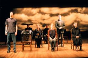 A scene from The Laramie Project: 10 Years Later as performed by the Tectonic Theater Project