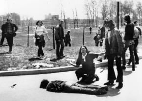 The Kent State shootings in May 1970