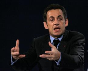 French President Nicolas Sarkozy