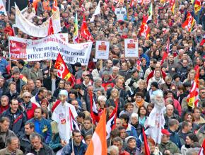Millions of people took to the streets across France during days of action to protest Sarkozy's pension plan