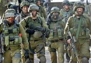 Members of the Israel Defense Force's notorious Golani Brigade