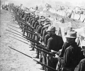 U.S. soldiers during the Spanish American War