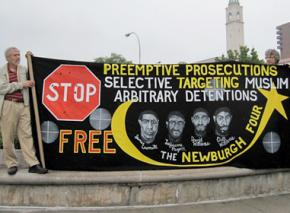 Protesters demand freedom for the Newburgh Four