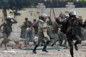 The Egyptian military is carrying out a savage attack against protesters demanding democracy