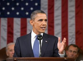 President Obama presents his State of the Union address to Congress