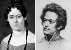 Jenny von Westphalen and Karl Marx