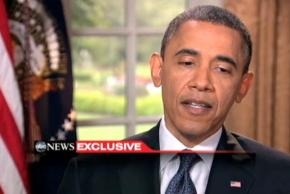 President Obama discusses his views on marriage equality with ABC News