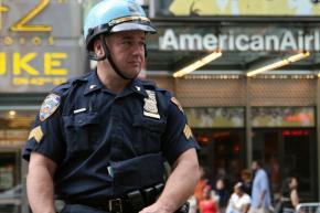 A New York City police officer