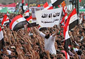Protesters return to Tahrir in the tens of the thousands