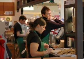 Baristas work for low wages and minimal benefits