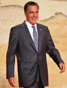 Mitt Romney speaking at the Conservative Political Action Conference