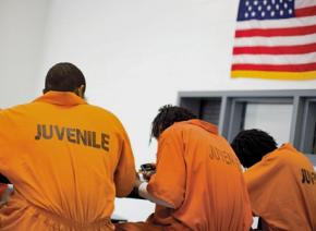 Youth incarcerated in the juvenile system