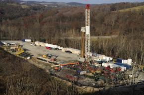 A massing drill for hydraulic fracturing