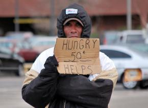 Hungry on the streets of Denver