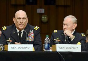 Generals from the Joint Chiefs of Staff testify before the Senate Armed Services Committee