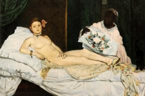 Manet's Olympia, 1863